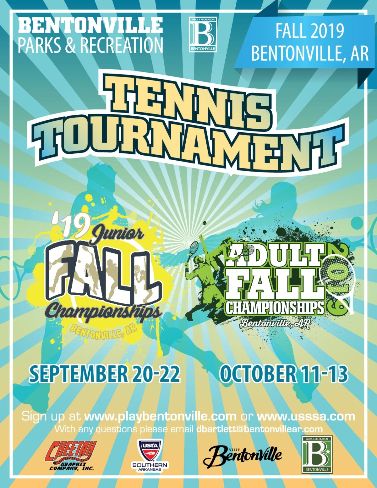 City of Bentonville- Fall Tennis TournamentFlyer
