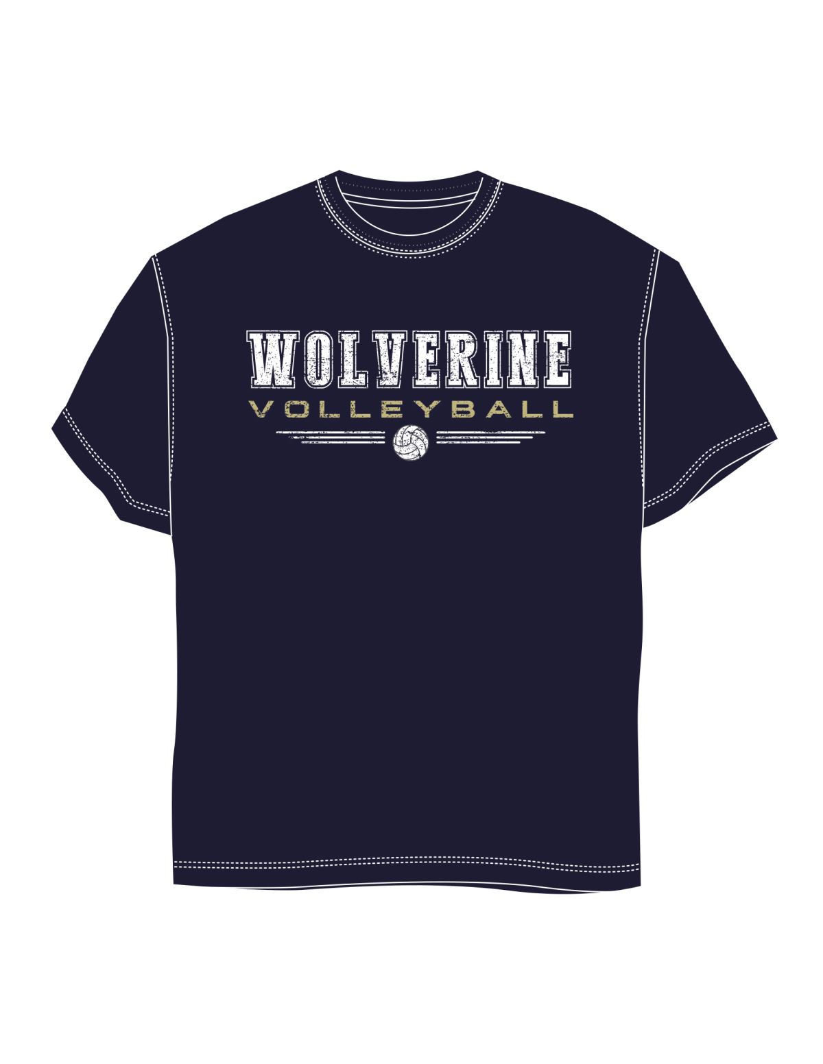 Bentonville West High School- Volleyball Spiritwear