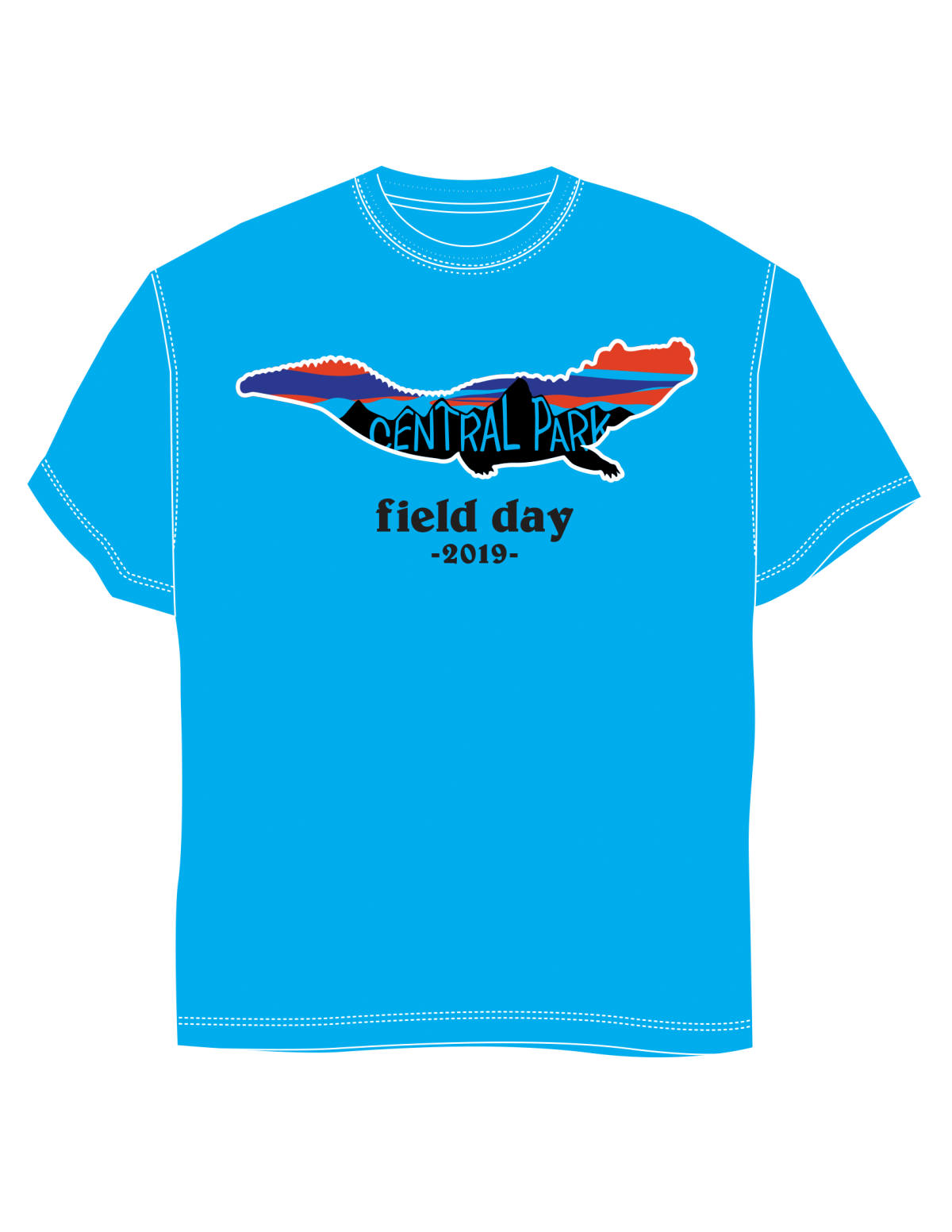 Central Park Elementary- 2019 Field Day Shirts